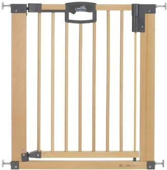 Geuther Door Safety Gate Easy Lock (Wood, Range of Adjustment 75.5 - 83.5cm)