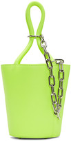 Alexander Wang Yellow Mini Roxy Bucket Bag