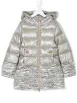 Herno Kids padded hooded jacket