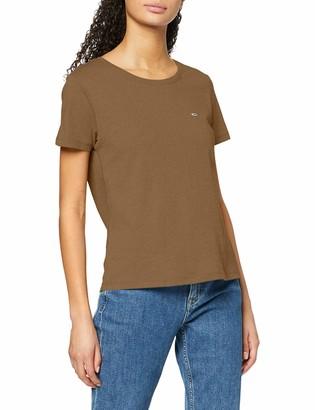 Tommy Jeans Women's Tjw Soft Jersey Tee Sports Knitwear