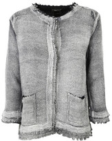 Avant Toi Frayed Jacket
