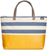 Jack Spade Men's Industrial Canvas Striped Dipped Coal Bag