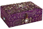 Pier 1 Imports Jacquard Purple Jewelry Box