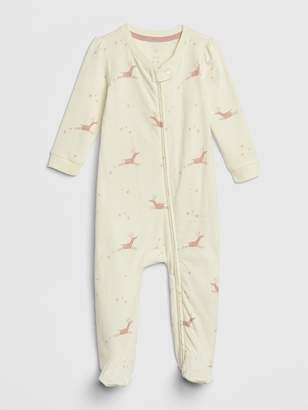 Gap Baby Organic Cotton Footed One-Piece
