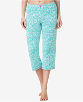 Ellen Tracy Printed Cropped Pajama Pants