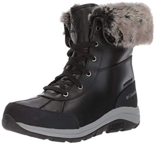 Columbia Women's Bangor Omni-Heat Snow Boots (Black/Monument), 36 EU