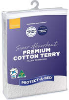 Protect A Bed Protect-A-Bed Premium Cotton Terry Pillow Protector (Each)