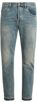 Gucci Distressed slim-leg jeans