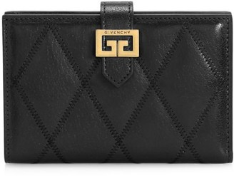 Givenchy GV3 Quilted Leather Wallet