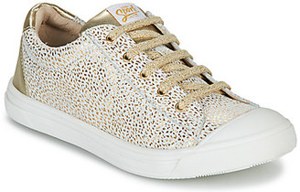 GBB MATIA girls's Shoes (Trainers) in Gold