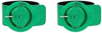 ATTICO Circle buckled bracelet