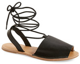 Topshop &Holly& Lace-Up Sandal (Women)