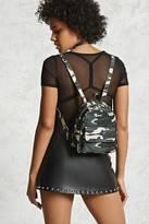 Forever 21 FOREVER 21+ Camo Print Mini Backpack