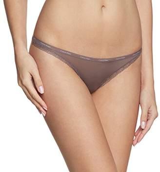 Calvin Klein Underwear Women's Bottoms UP-Thong String,(Size: L)