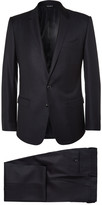 Dolce & Gabbana - Blue Martini Slim-fit Virgin Wool And Silk-blend Suit
