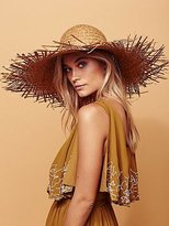 Russo Oversized Straw Hat by Lack of Colour at Free People
