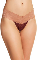 Cosabella Never Say Never Two-Tone Lowrider Cutie Thong