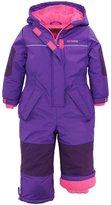 Pink Platinum Little Girls Snowsuit 1-Piece Winter Snowmobile Snowboard Ski Suit