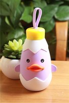 XMiniLife Chick Duck Insulation Water Bottle,Kids Cartoon Cup