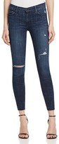 Black Orchid Noah Ankle Fray Jeans in Nightingale