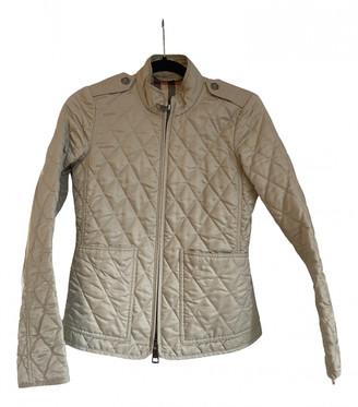 Burberry Beige Synthetic Coats