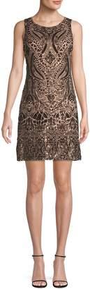 Vince Camuto Sequin-Embellished Mini Dress
