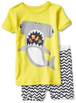Hammerhead shark short sleep set