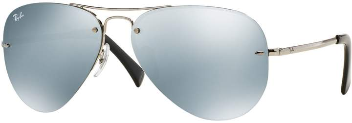Ray-Ban 0RB3449 59mm Pilot Sunglasses