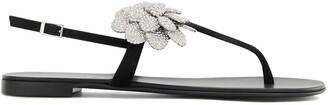 Giuseppe Zanotti Phoebe flat sandals