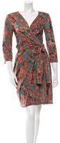 Costello Tagliapietra Printed Wrap Dress