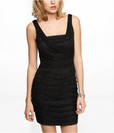 Express Ruched Lace Dress