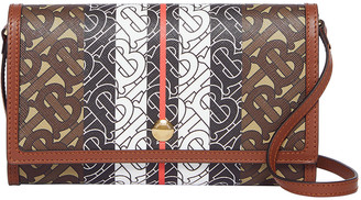Burberry Hanna TB Monogram Canvas Wallet