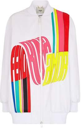 Fendi Roma Amor bomber jacket