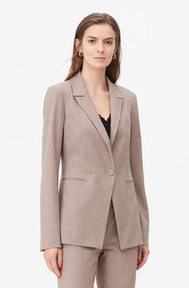 Rebecca Taylor Tailored Houndstooth Suiting Jacket
