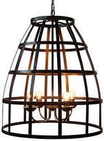 Noir Birdcage 4-Light Pendant - Bronze