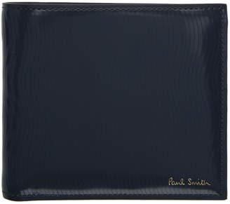 Paul Smith Grey Sliced Bifold Wallet
