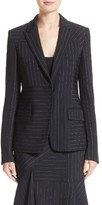 Jason Wu Women's Pinstripe Stretch Jacket