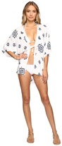 Plush Soleil K'in Beach Kimono Women's Long Sleeve Pullover