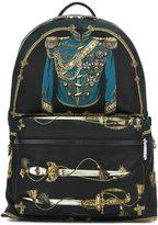 Dolce & Gabbana Vulcano backpack - men - nylon 12/Polyamide/Acrylic/Calf Leather - One Size