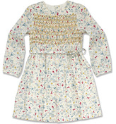 Marie Chantal Smocked Dress