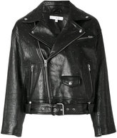 IRO Vandry studded biker jacket - women - Lamb Skin/Rayon - 34