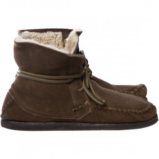 Etoile Isabel Marant Brown Suede Ankle boots