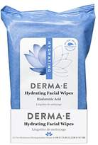 Derma E Hydrating Facial Wipes, 25 Count