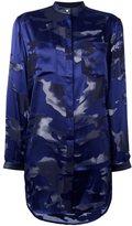 Diesel camouflage effect shirt