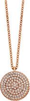 Astley Clarke Icon 18ct gold vermeil pendant necklace