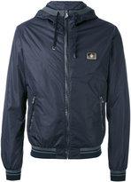 Dolce & Gabbana hooded jacket - men - Calf Leather/Polyamide - 46