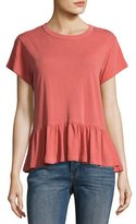 The Great The Ruffle Tee, Pink