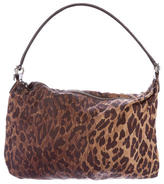 Dolce & Gabbana Leopard Print Shoulder Bag