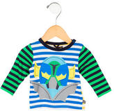 Stella McCartney Boys' Striped Crew Neck Shirt w/ Tags