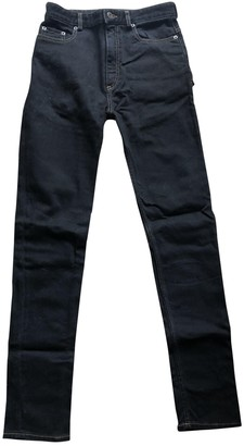 Y/Project Black Cotton - elasthane Jeans for Women